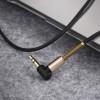 Аудио кабель Aux Hoco UPA02 (1m) black