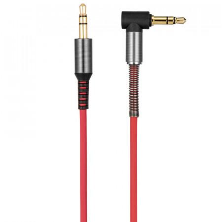 Аудио кабель Aux Hoco UPA02 (1m) red