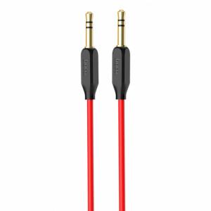 Аудио кабель Aux Hoco UPA11 (1м) red