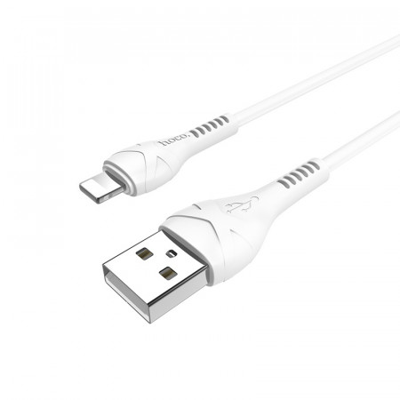 "Дата кабель Hoco X37 ""Cool power"" Lightning (1m) white"