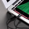 "Дата кабель Hoco U76 ""Fresh magnetic"" Micro USB (1.2m) black"