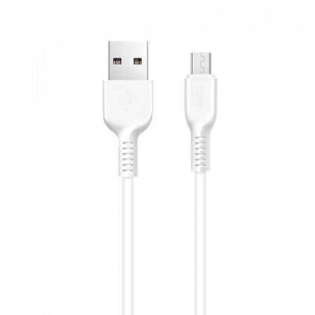 Дата кабель Hoco X20 Flash Micro USB Cable (1m) white