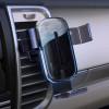 Автодержатель с беспроводным ЗУ Baseus Explore Gravity Car Mount 15W black